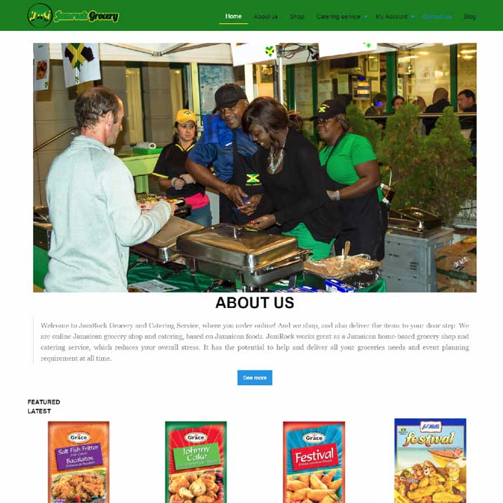 Agence 25 Jamrock grocery (JRG)