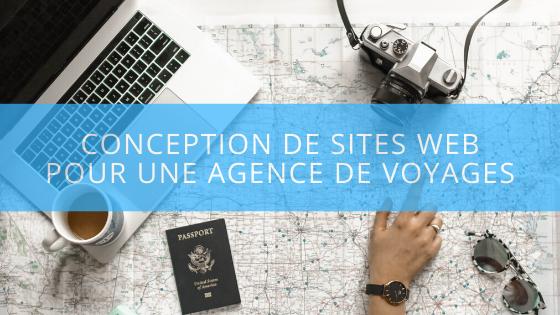Agence de voyages – Conception de sites Web